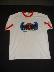 QUADROPHENIA T-SHIRT - Red Collar Cast Photo - ALL SIZES